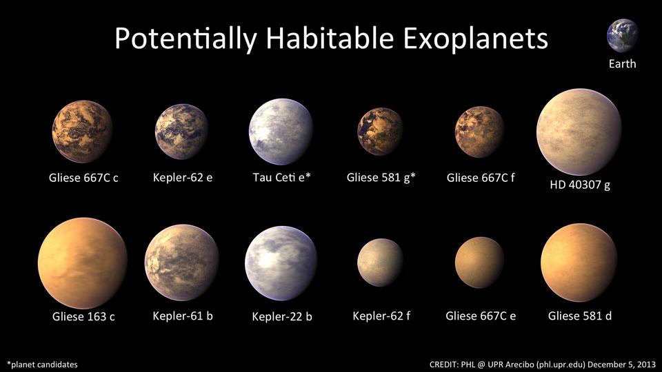 unbekannte planeten
