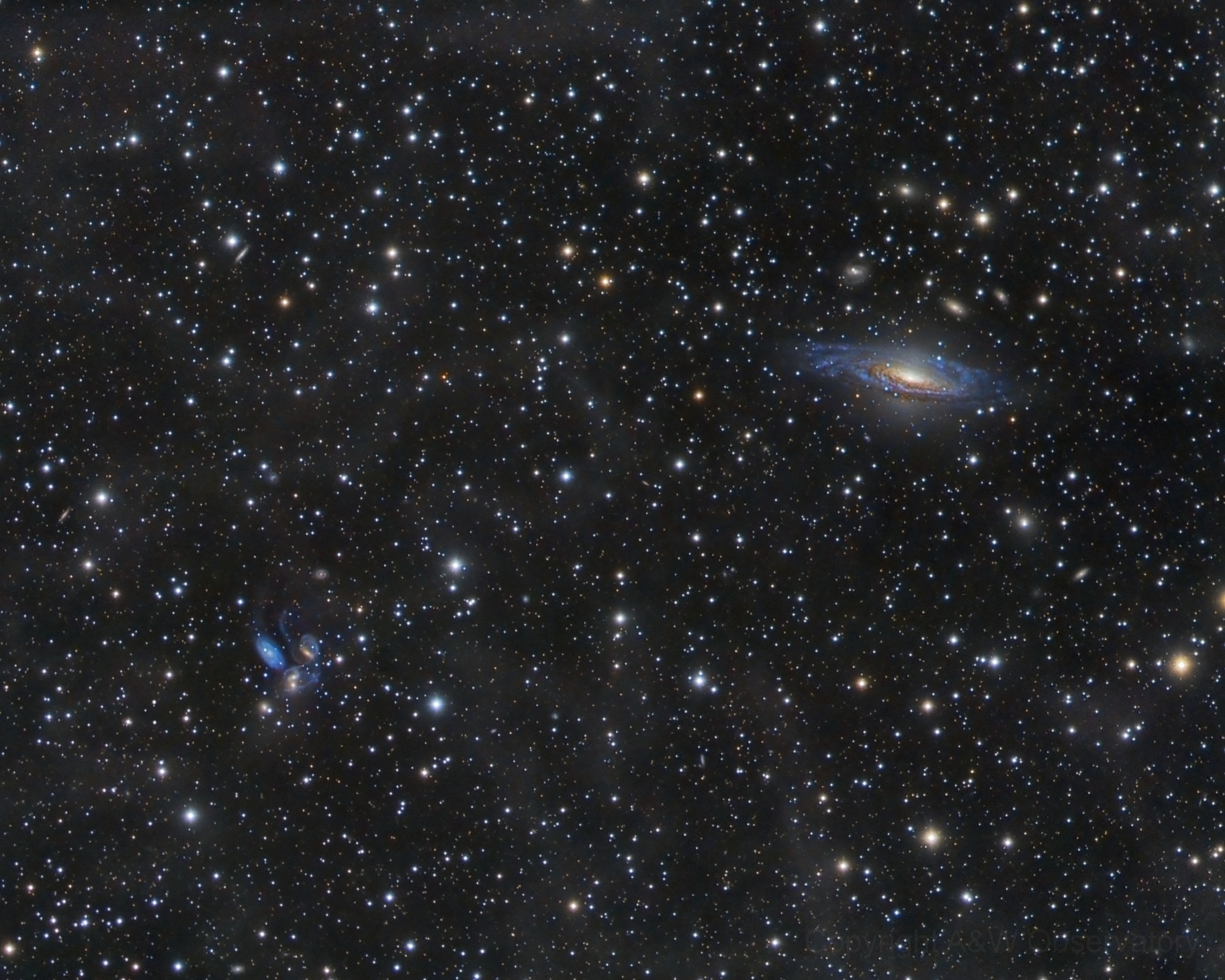 different galaxies in space - HD1824×1459