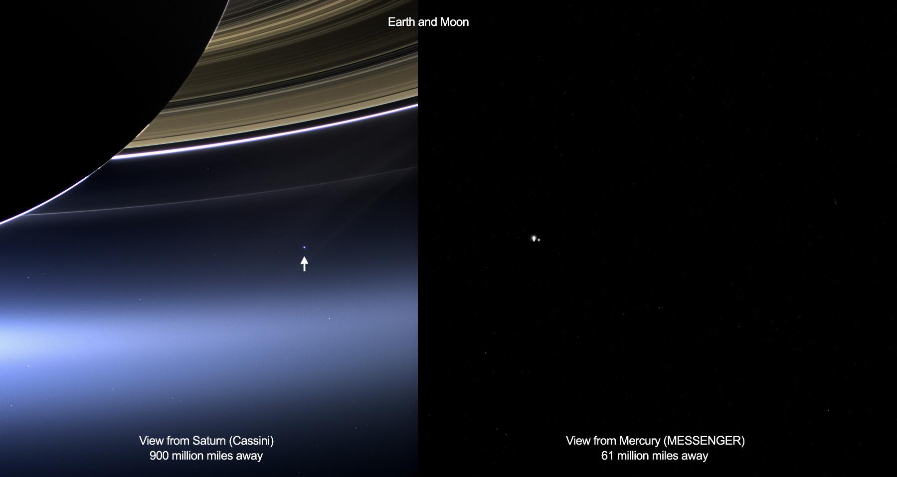 Interplanetare Erde – Weltraumbild des Tages