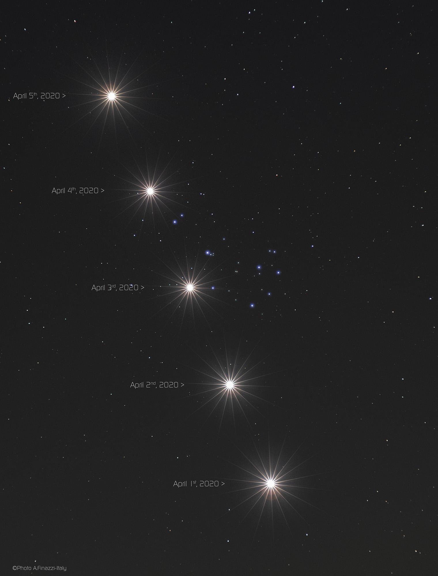 Jupiter leuchtet hell am Nachthimmel | Wissen