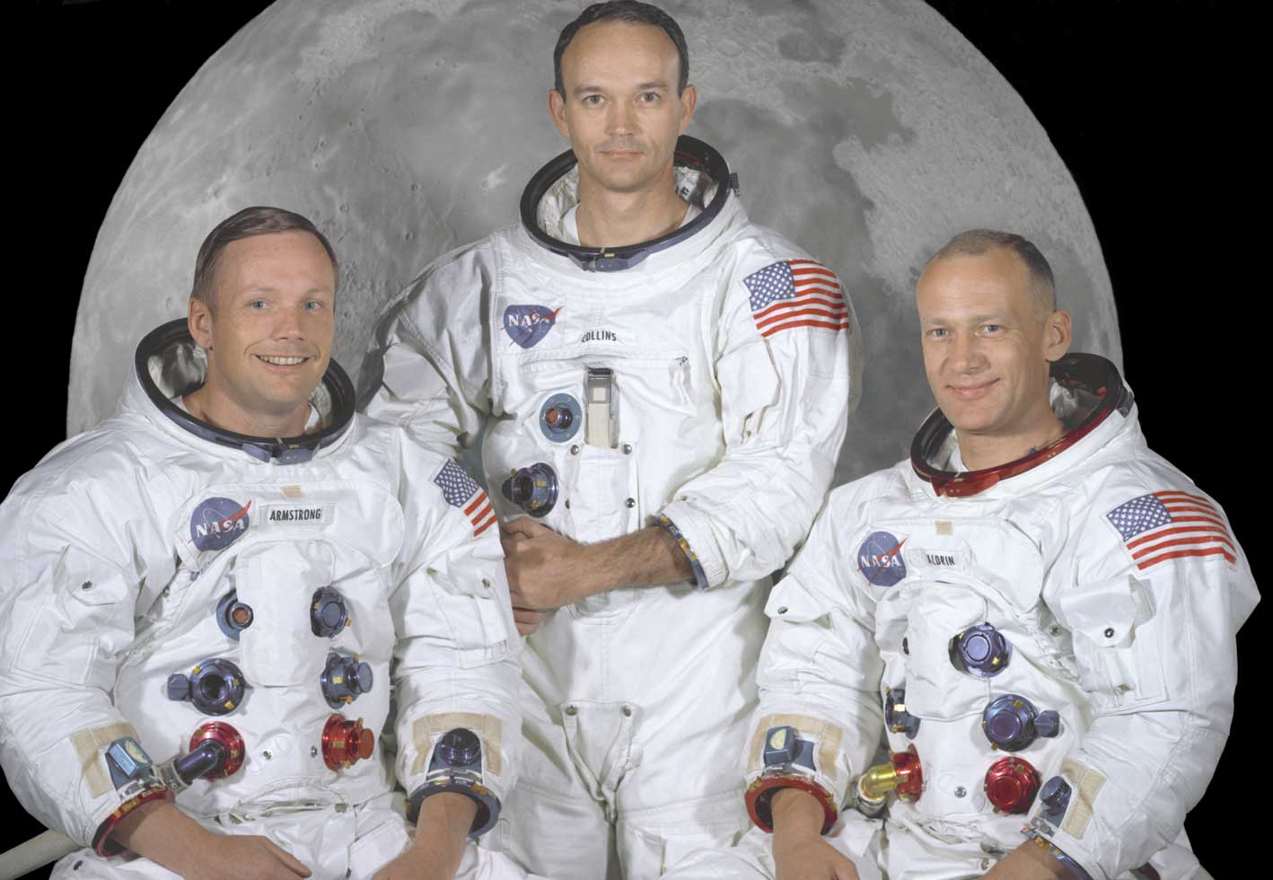Astronauten Apollo 11 - Bildcredit: NASA